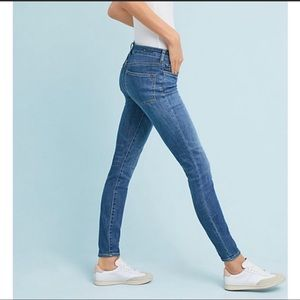 Anthropologie Pilcro High Rise Denim Leggings 28